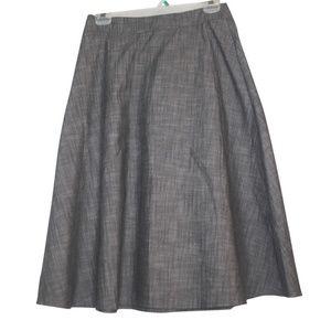 Final Touch Womens Size Medium Skirt Waist Zipper